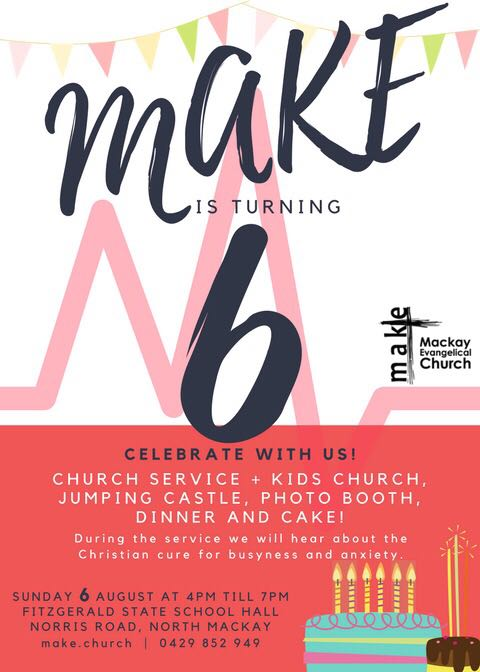 MAKE's 6th Birthday – ThisWeekend!!